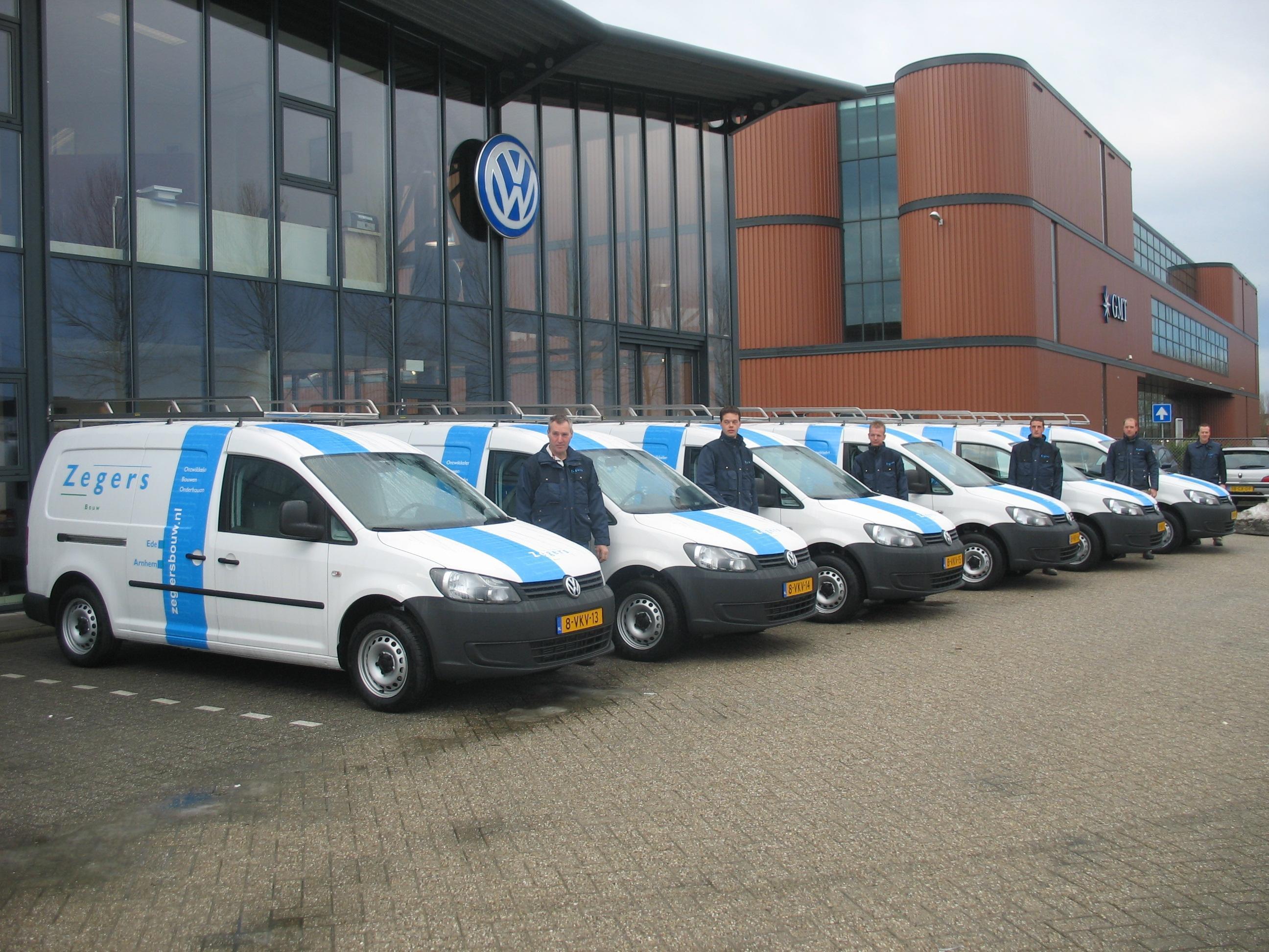 Zegers voorzien van duurzame bedrijfswagens