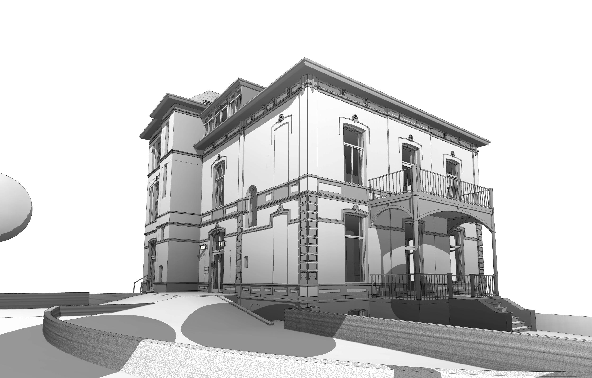 Renovatie Kantoorvilla Römershof