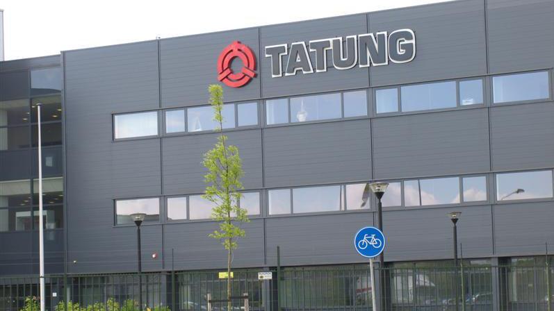 Realisatie bedrijfsobject Tatung Wijchen