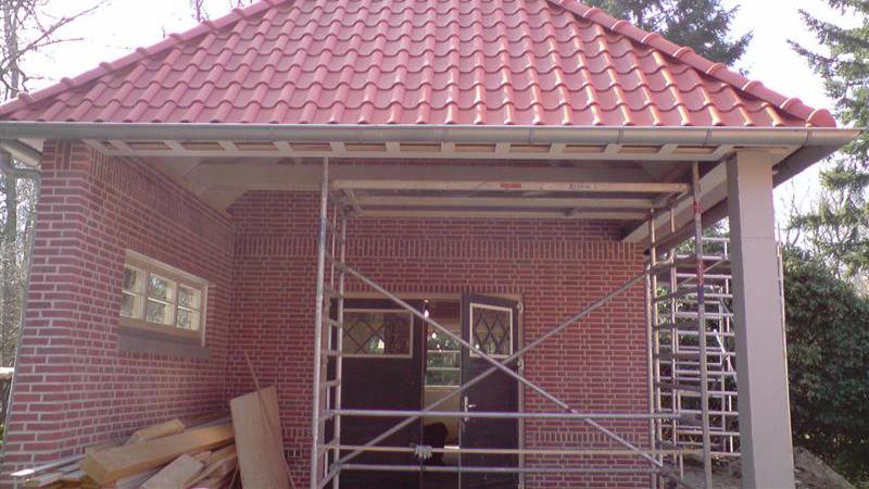 Nieuwbouw garage te Doorwerth