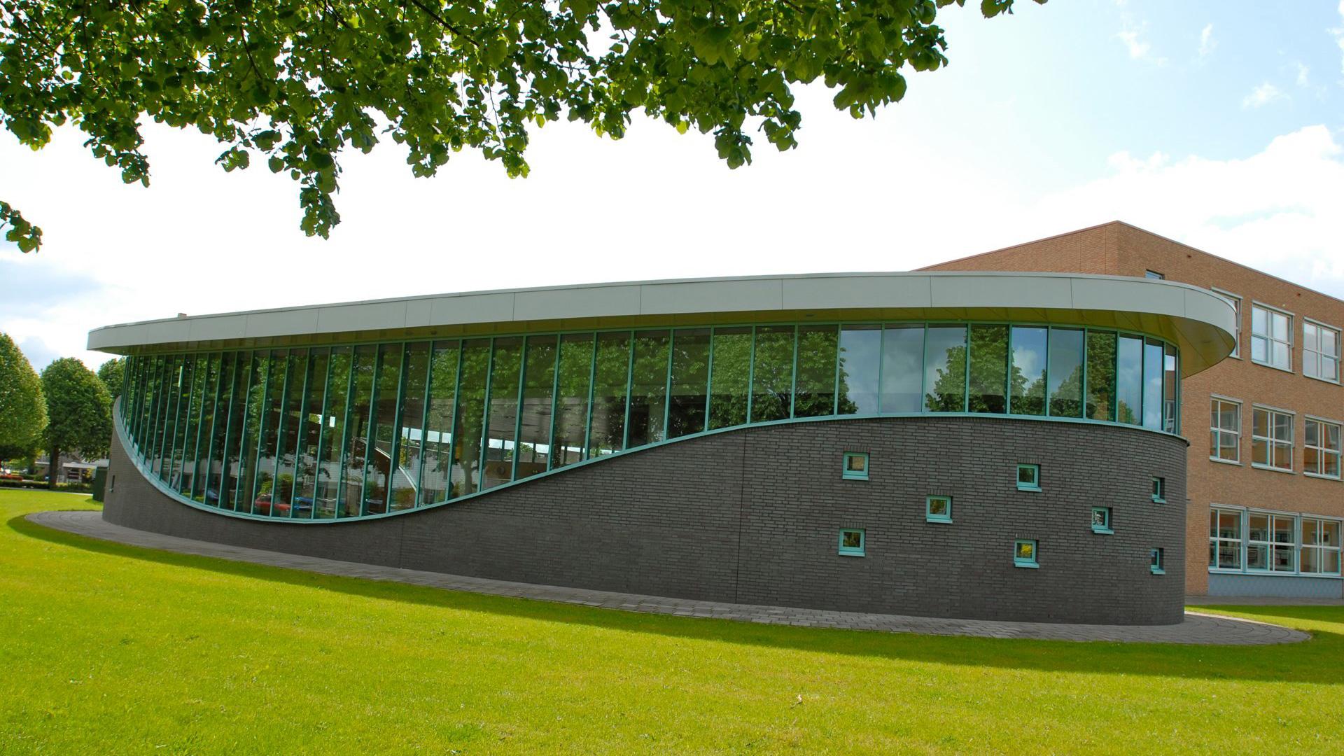 Realisatie aula Ichthus Veenendaal